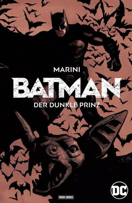 Batman – der dunkle Prinz - Das Cover