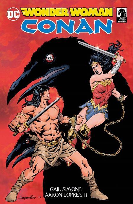 Wonder Woman/Conan - Das Cover