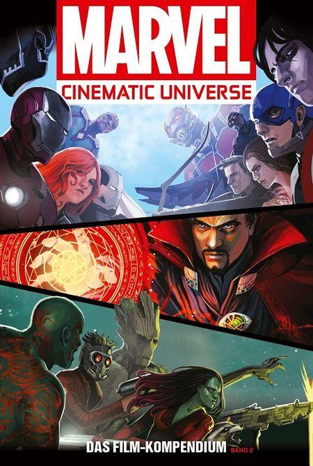 Marvel Cinematic Universe – Das Film-Kompendium 2: Die Guten, die Bösen & die Guardians - Das Cover