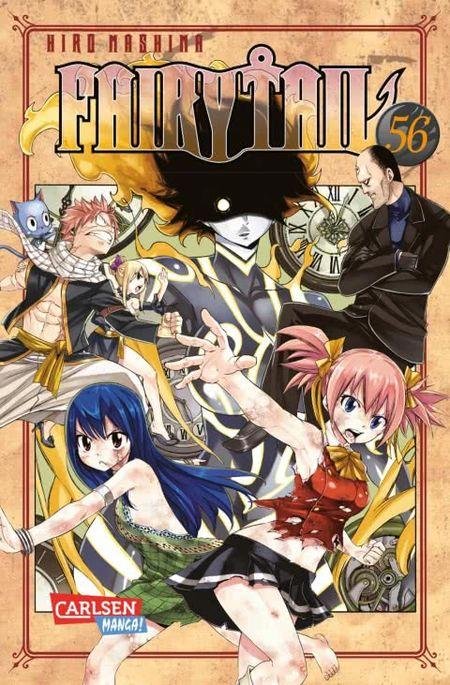 Fairy Tail 56 - Das Cover