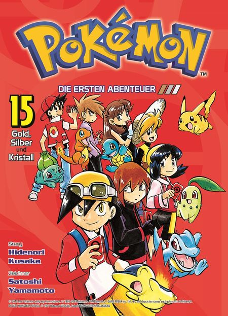 Pokémon: Die ersten Abenteuer 15 - Das Cover