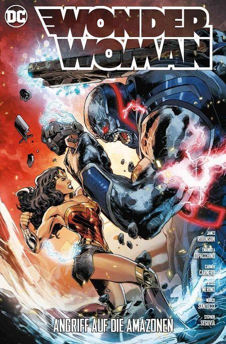 Wonder Woman (Rebirth) 6: Angriff auf die Amazonen - Das Cover