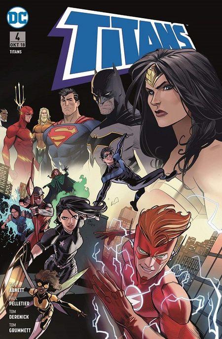 Titans (Rebirth) 4: Jeder für sich führt - Das Cover