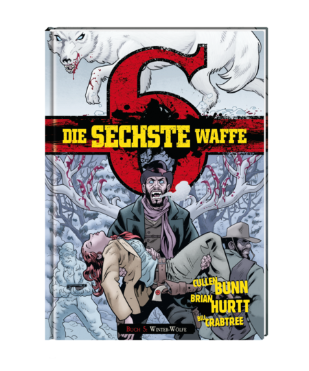 Die sechste Waffe 5: Winterwölfe - Das Cover