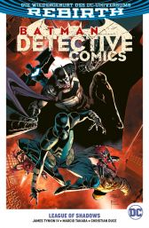 Batman Detective Comics 3: League of Shadows - Das Cover