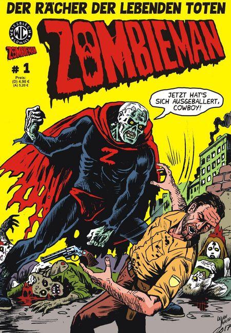 Zombieman 1 - Das Cover