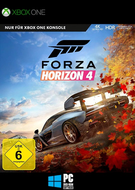 Forza Horizon 4 - Der Packshot