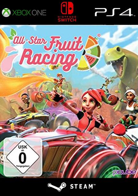 All-Star Fruit Racing - Der Packshot