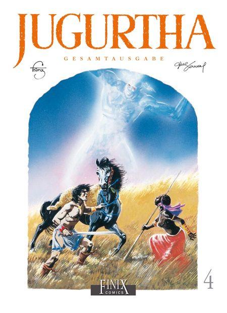 Jugurtha Gesamtausgabe 4 - Das Cover