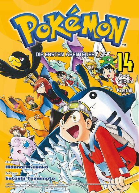 Pokémon: Die ersten Abenteuer 14 - Das Cover