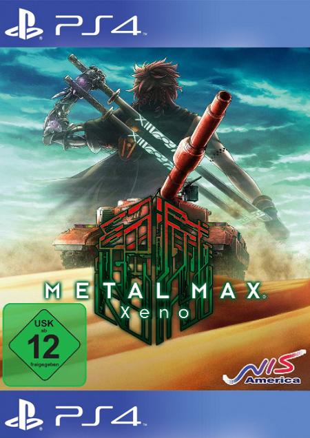 Metal Max Xeno - Der Packshot