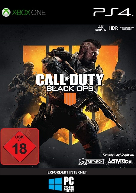 Call of Duty: Black Ops 4 - Der Packshot