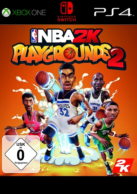 NBA 2K Playgrounds 2 - Der Packshot