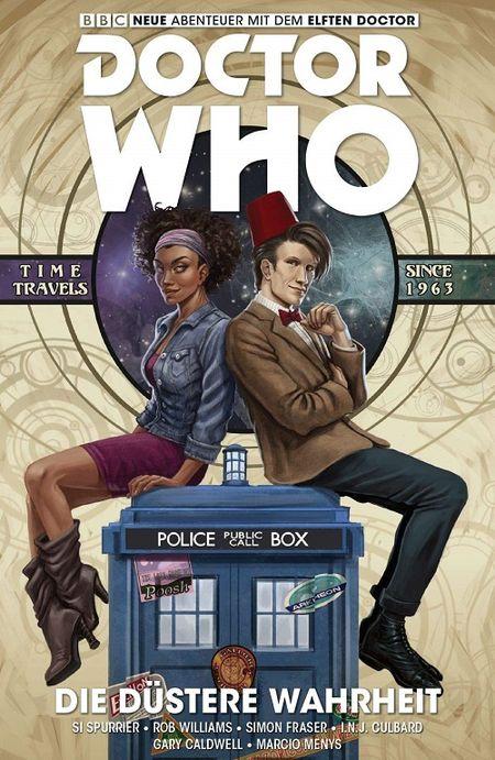 Doctor Who: Der elfte Doctor 6: Die düstere Wahrheit - Das Cover