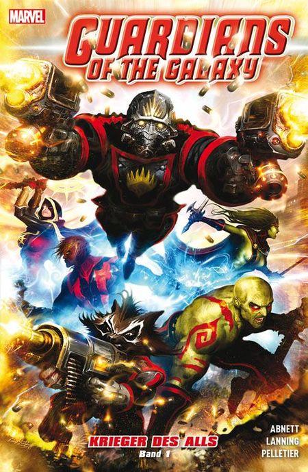 Guardians of the Galaxy: Krieger des Alls 1 - Das Cover