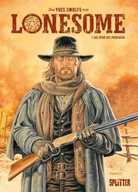 Lonesome 1 – Die Spur des Predigers - Das Cover