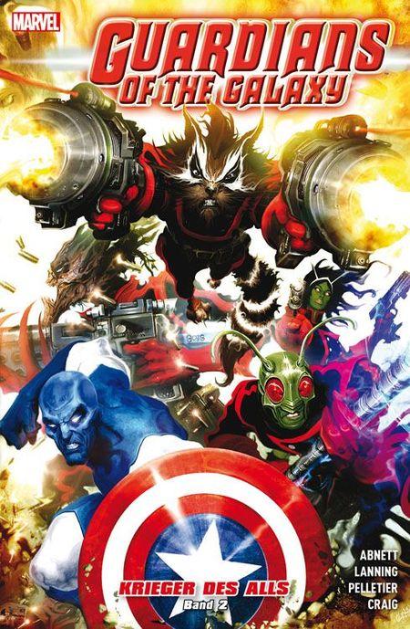 Guardians of the Galaxy: Krieger des Alls 2 - Das Cover