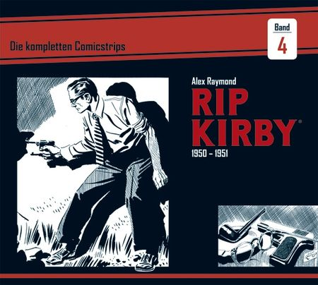 Rip Kirby 1950-1951 - Das Cover