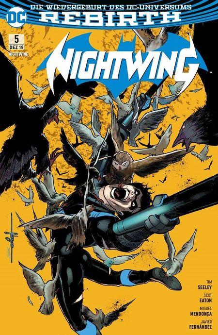 Nightwing (Rebirth) 5: Raptors Rache - Das Cover