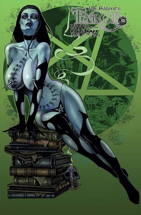 Tarot – Witch of the Black Rose 17: Hochzeitsnacht in Stonehenge  - Das Cover