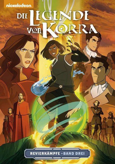 Die Legende von Korra 3: Revierkämpfe – Teil 3 - Das Cover