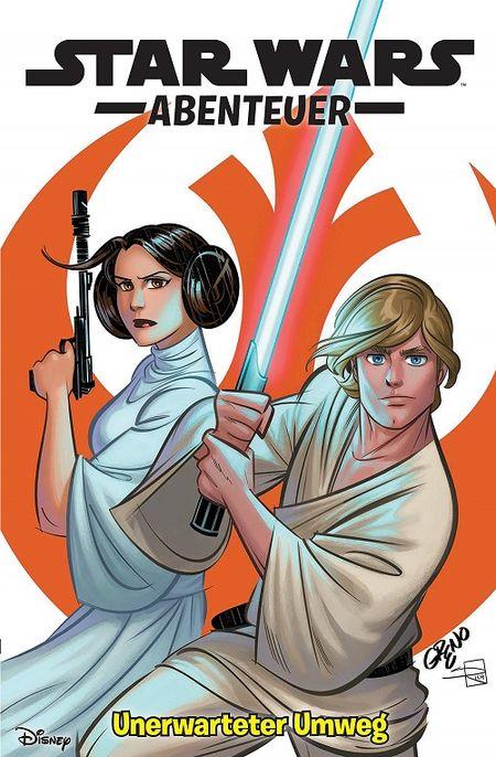 Star Wars Abenteuer 3: Unerwarteter Umweg  - Das Cover