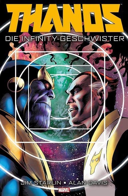 Thanos – Die Infinity-Geschwister - Das Cover