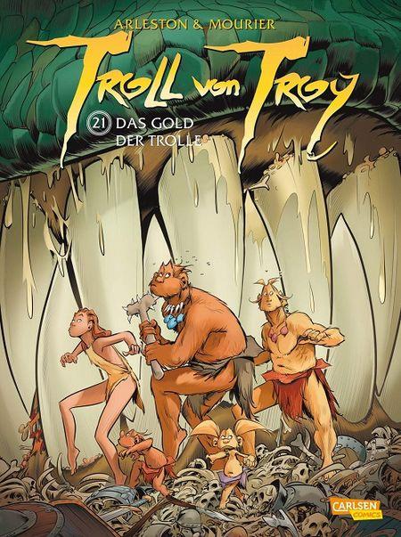 Troll von Troy 21: Das Gold der Trolle  - Das Cover