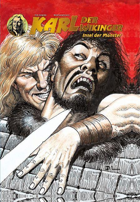 Karl der Wikinger 4: Insel der Monster  - Das Cover