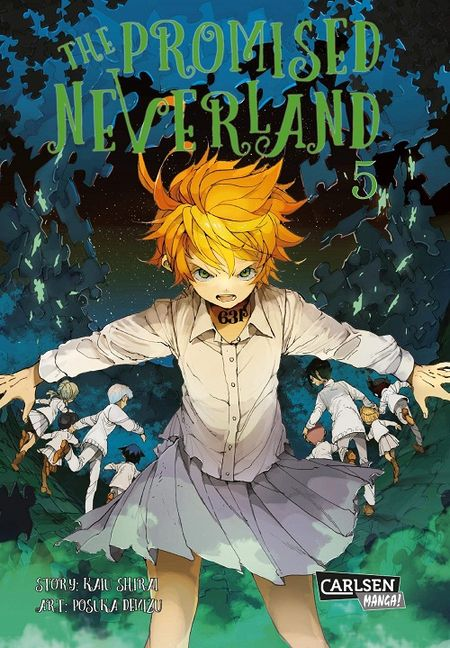 The Promised Neverland 5 - Das Cover