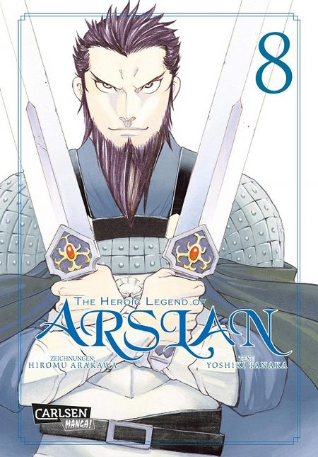 The Heroic Legend of Arslan 8 - Das Cover