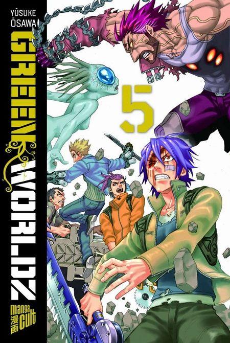 Green Worldz 5 - Das Cover