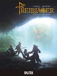 Die Treibjäger 1: Die vergessene Waffe der Götter - Das Cover