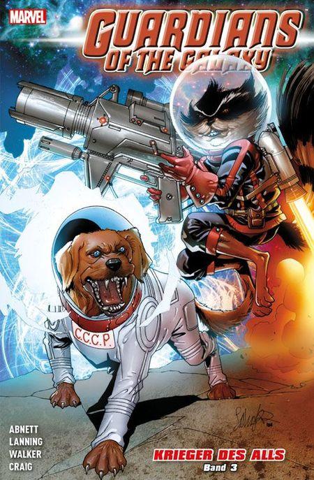 Guardians of the Galaxy: Krieger des Alls 3 - Das Cover
