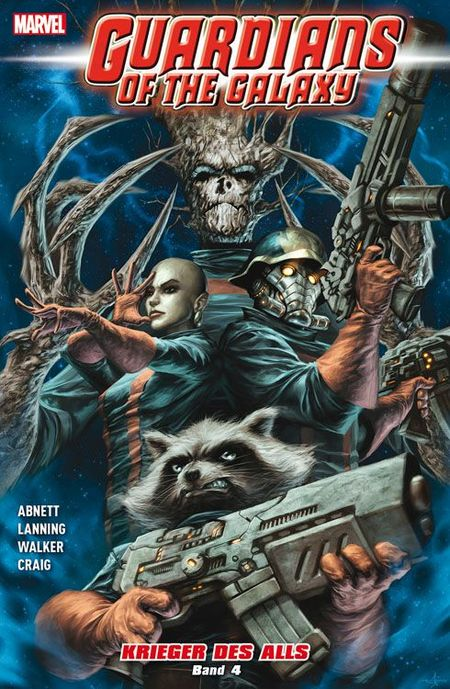 Guardians of the Galaxy: Krieger des Alls 4 - Das Cover