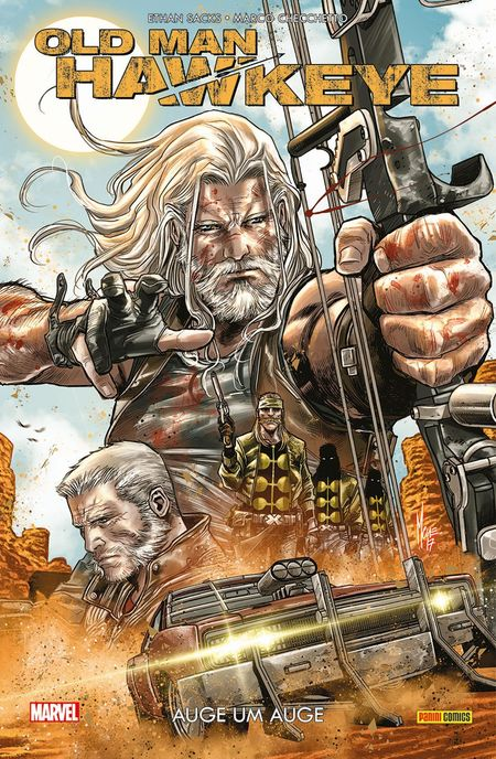 Old Man Hawkeye – Auge um Auge - Das Cover