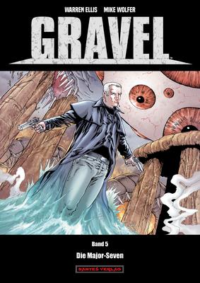 Gravel 5: Die Major Seven - Das Cover