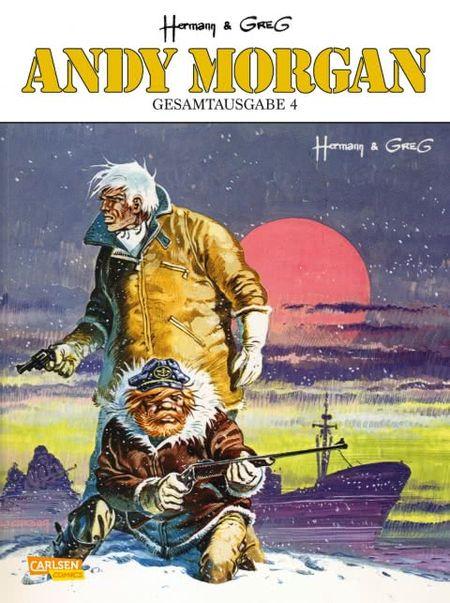 Andy Morgan Gesamtausgabe 4 - Das Cover