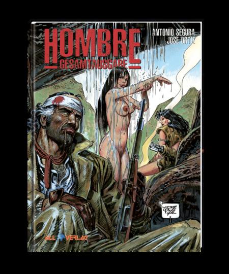 Hombre – Gesamtausgabe 1 - Das Cover