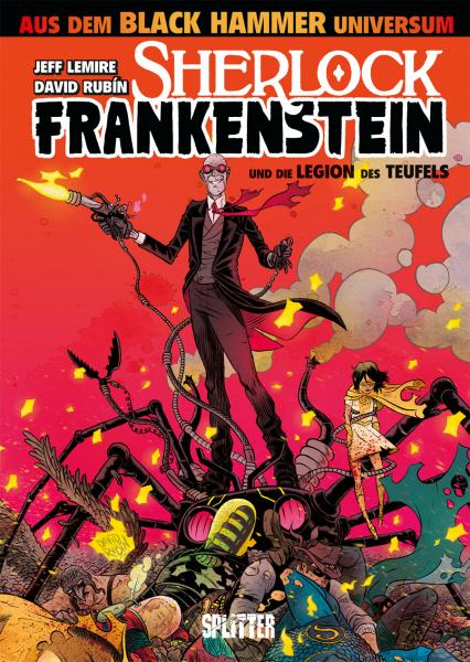 SHERLOCK FRANKENSTEIN UND DIE LEGION DES TEUFELS - Das Cover