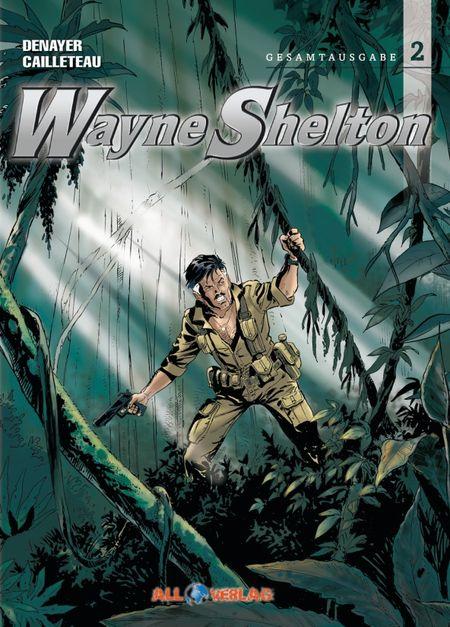 Wayne Shelton – Gesamtausgabe 2 - Das Cover