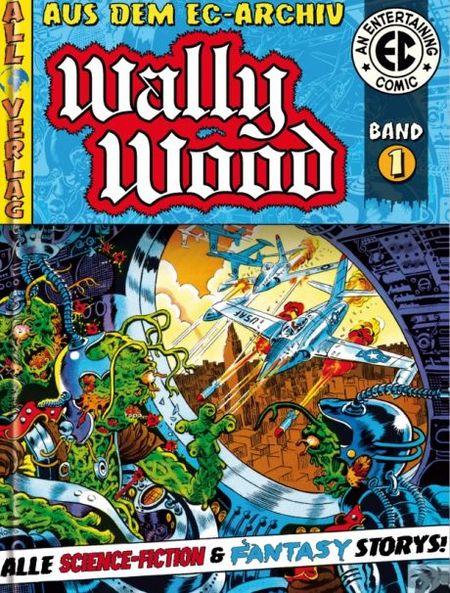 EC Archiv Wally Wood  – Gesamtausgabe 1 - Das Cover
