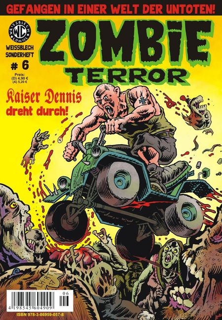 Weißblech Sonderheft 6 – Zombie Terror - Das Cover