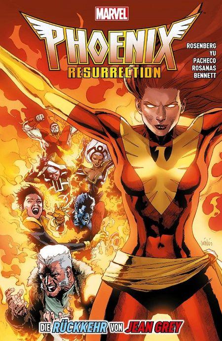 X-Men Phoenix Resurrection: Die Rückkehr von Jean Grey - Das Cover