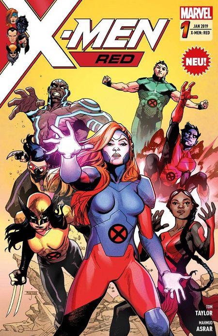 X-Men: Red 1 - Das Cover