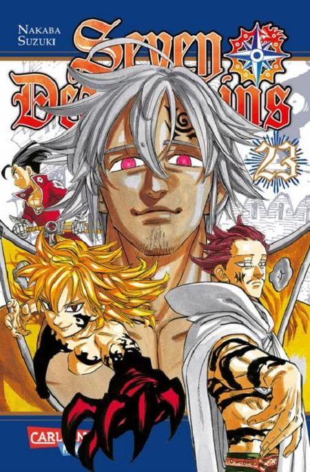 Seven Deadly Sins 23 - Das Cover