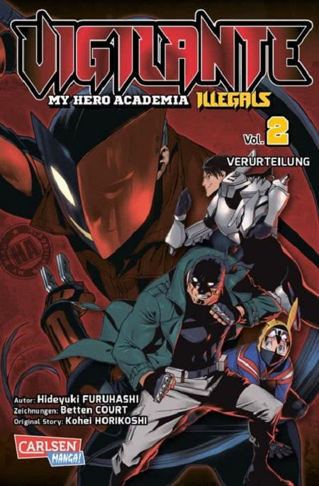 Vigilante – My Hero Academia Illegals 2 - Das Cover
