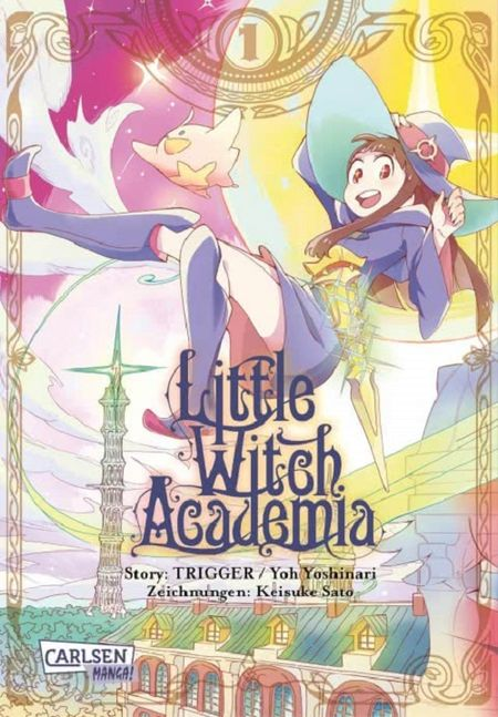 Little Witch Academia 1 - Das Cover