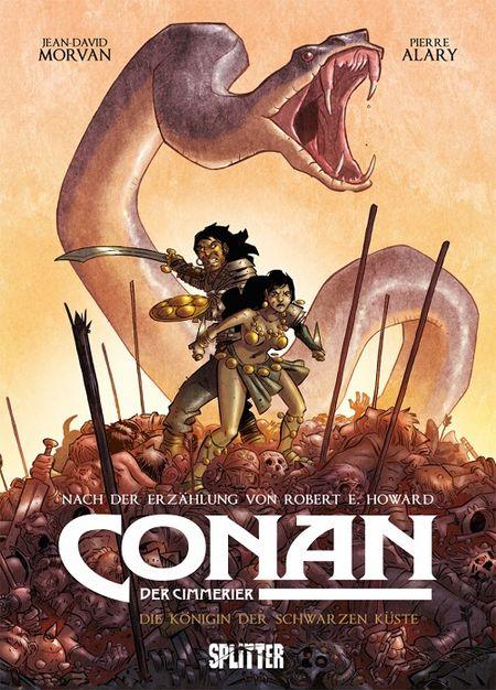 Conan der Cimmerier 1: Königin der Schwarzen Küste - Das Cover