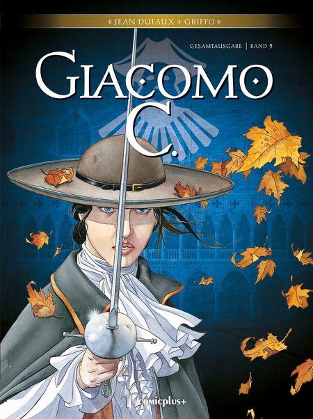 Giacomo C. – Gesamtausgabe Band 5 - Das Cover